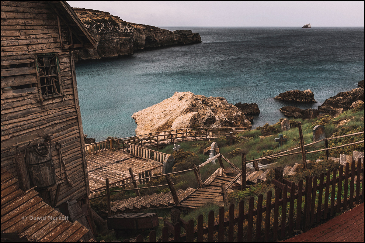Popeye Village by Dawid Markoff